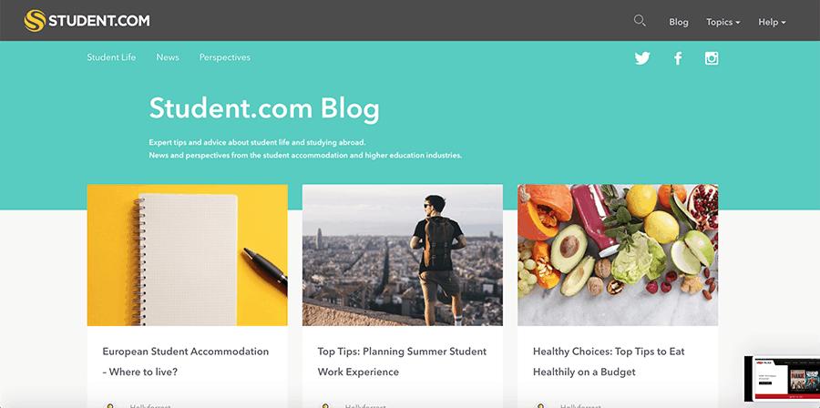 Student.com ~ WordPress development expert