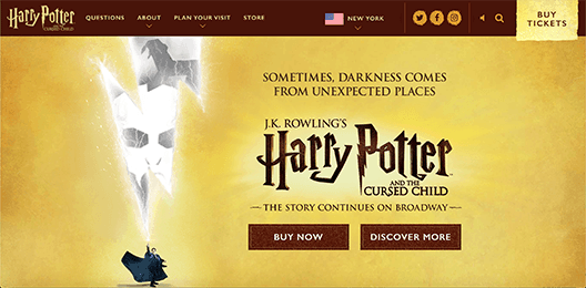 Harry Potter and the cursed child ~ WordPress development expert